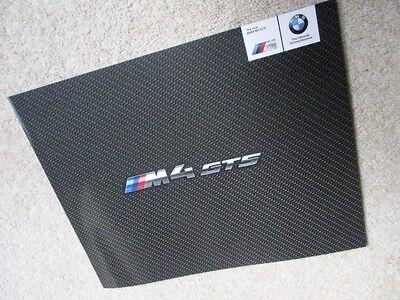 BMW M4 GTS BROCHURE PROSPEKT LIMITED EDITION NOT CSL M3 M5 M6 M1 Z8 M2