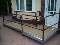 2.5m Semi Permanent Wheelchair Ramp