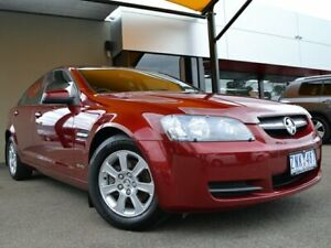 2010 Holden Commodore VE MY10 Omega Red 4 Speed Automatic Sedan Fawkner Moreland Area Preview