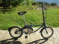 Vélo pliant vintage comme neuf/Vintage folding bike like new