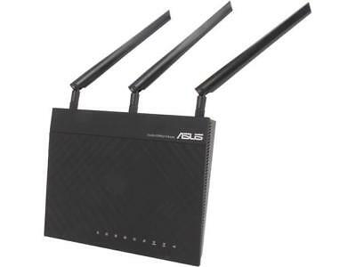 Asus Certified RT-N66R Dual-Band Wireless-N900 Gigabit Router, DD-WRT Open Sourc