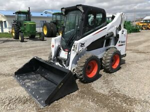 2015 Bobcat S590, A71 Cab, Warranty! ONLY 438 Hours! $41,500.