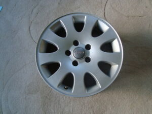 VW Audi Alloy rims, 205 55 16 snow tires