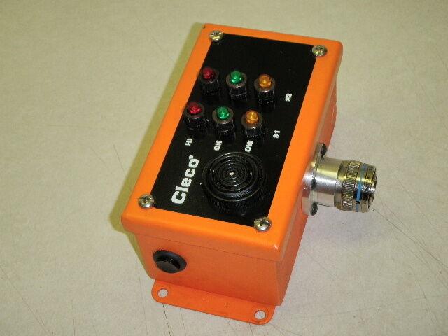 Cooper Tools Cleco Power Alarm Control Box 542976-2 _ 5429762