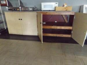 Storage shelf and counter top