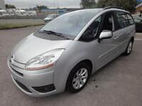 LHD 2009 Citroen C4 Grand Picasso 1.6HDI Exclusive UK REGISTERED
