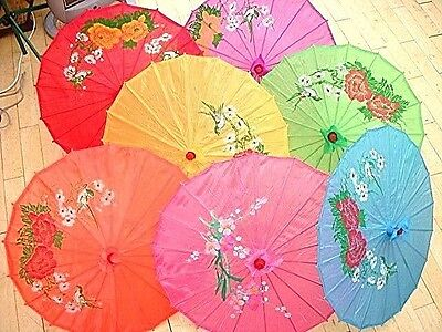JAPANESE S PARASOL CHINESE WEDDING GIRL DANCE FANCY PARTY UMBRELLA pick YR color