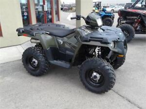 POLARIS SPORTSMAN FACTORY AUTHORIZED CLEARAN-ON NOW-$40 BI WKLY