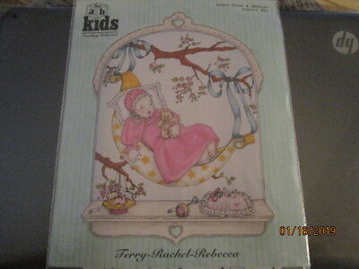 - NEW CHILDRENS SEWING PATTERN SMOCKED GOWN & BLOOMERS TERRY-RACHEL-REBECCA ABC KI