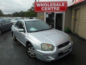 2003 Subaru Impreza MY03 GX (AWD) Silver 4 Speed Automatic Sedan Edgeworth Lake Macquarie Area Preview