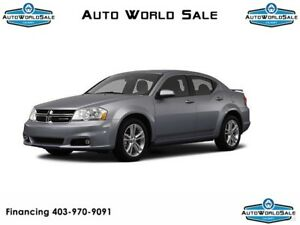 2012 DODGE AVENGER | AUTOMATIC | FWD | TRACTION CONTROL |