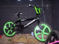 Big daddy BMX bike mag wheels as new 20 inch wheels