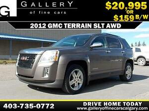 2012 GMC Terrain SLT AWD $159 BI-WEEKLY APPLY NOW DRIVE NOW