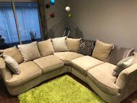 Used Furniture Village - Fabric Corner Sofa