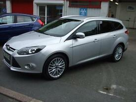 "2014 64 Ford Focus 1.6TDCi 115ps Zetec Estate Diesel Car 17""Alloys £20 tax"
