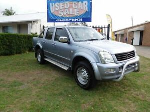 2004 Holden Rodeo RA LT Crew Cab Silver 5 Speed Manual Dual Cab Ballina Ballina Area Preview