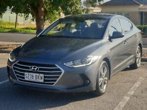 2016 Hyundai Elantra AD MY17 Active Grey 6 Speed Sports Automatic Sedan Prospect Prospect Area Preview