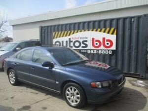 2001 Volvo S60 ( CUIR - TOIT - MAGS - AUTOMATIQUE )
