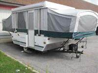 2005 Fleetwood Yuma 10' Box Tent Trailer