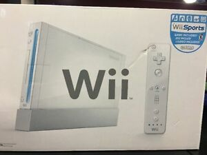 NEW IN BOX - NINTENDO WII SPORTS CONSOLE $120 FIRM