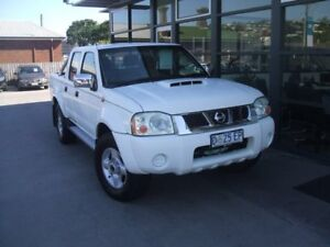 2010 Nissan Navara D22 MY2009 ST-R White 5 Speed Manual Utility Launceston Launceston Area Preview