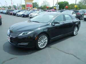 2014 LINCOLN MKZ BASE- POWER GLASS SUNROOF, NAVIGATION SYSTEM, R