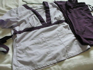 2 pc set womens scrubs