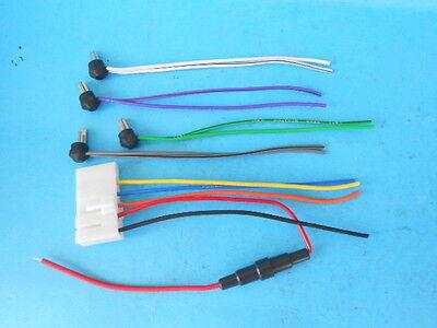 1 Speaker Plug Wire Becker Blaupunkt 1970//80s Radio Mercedes BMW Porsche Ferrari