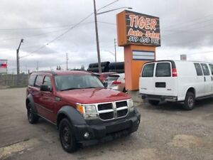 2007 Dodge Nitro SE**ONLY 209 KMS**RUNS WELL**AS IS SPECIAL