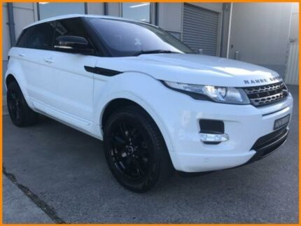 2013 Land Rover Evoque LV MY13 SD4 Pure White 6 Speed Automatic Wagon