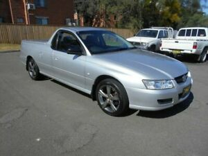 2006 Holden Commodore VZ MY06 S Silver 4 Speed Automatic Utility Bankstown Bankstown Area Preview