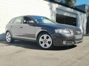 2005 Audi A3 8P Ambition Sportback Tiptronic Dark Grey 6 Speed Sports Automatic Hatchback Ashmore Gold Coast City Preview