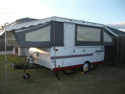 1994 CUB DRIFTER 4/6 BTH WIND UP HARD ROOF CAMPERTRAILER L/WEIGHT Burpengary Caboolture Area Preview