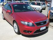 2009 Ford Falcon FG G6 Red 5 Speed Automatic Sedan Fremantle Fremantle Area Preview