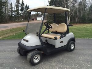 2007 and 2002 Club Car Golf Cart     Gas     Work Great
