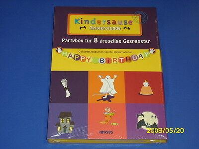 de - Kindergeburtstag, Kinderparty - Kindersause (Party Stunden)
