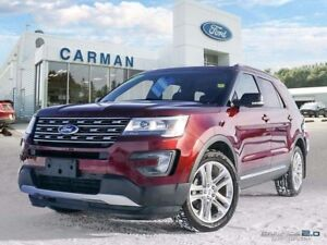 2016 Ford Explorer XLT Leather Sunroof Centre Bucket Seats