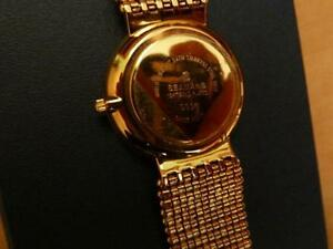 Gold plated Seamans swiss watch West Island Greater Montréal image 3