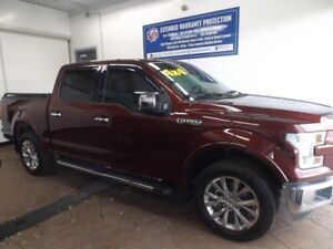 2016 Ford F-150 LARIAT SUPERCREW 4x4 LEATHER NAVI