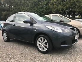 WOW!!! Mazda 2 1.3 TS2, Grey, Genuine 22,000 Miles Only, and Amazing Service History (10 x Stamps)