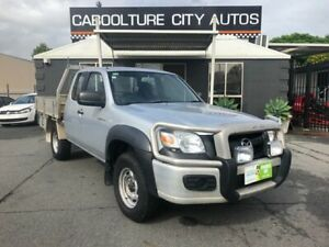 2007 Mazda BT-50 B3000 Freestyle DX+ (4x4) Silver 5 Speed Manual Cab Chassis Morayfield Caboolture Area Preview