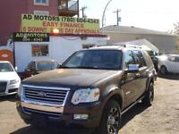 2008 FORD EXPLORER LIMITED SROOF 7SEATER 4X4 134K-100% APPROVED