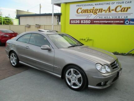 2008 Mercedes-Benz CLK350 C209 MY08 Avantgarde Silver 7 Speed Sports Automatic Coupe Bundall Gold Coast City Preview
