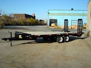 20' Deckover Float Trailer - Factory Direct Pricin