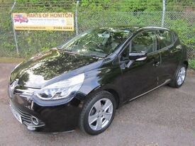 Renault Clio 1.5 Dynamique MediaNav DCi 90 Energy Turbo Diesel 5DR (deep black) 2013