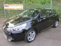 Renault Clio 1.5 Dynamique MediaNav DCi 90 Energy Turbo Diesel 5DR (deep black) 2013