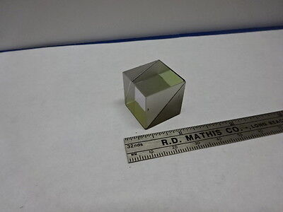 Optical Cube Beam Splitter Optics As Is 84-34