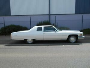 1974 Cadillac De Ville White Automatic Coupe Beverley Charles Sturt Area Preview