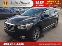 2013 Infiniti JX35 Premium NAVI 360 CAMERA PANOROOF 2DVD SCREENS
