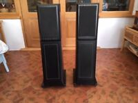 A pair of REGA ELA speakers circa 1997 a Technics CD player and a speaker switch good working order